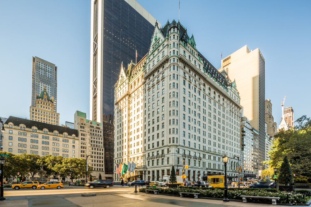 The Plaza Hotel, New York City, USA.