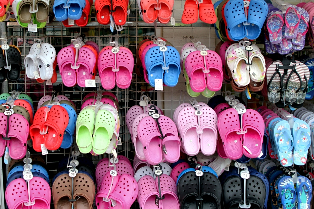 Crocs, makers of the popular foam clog shows are closing down their last factory
