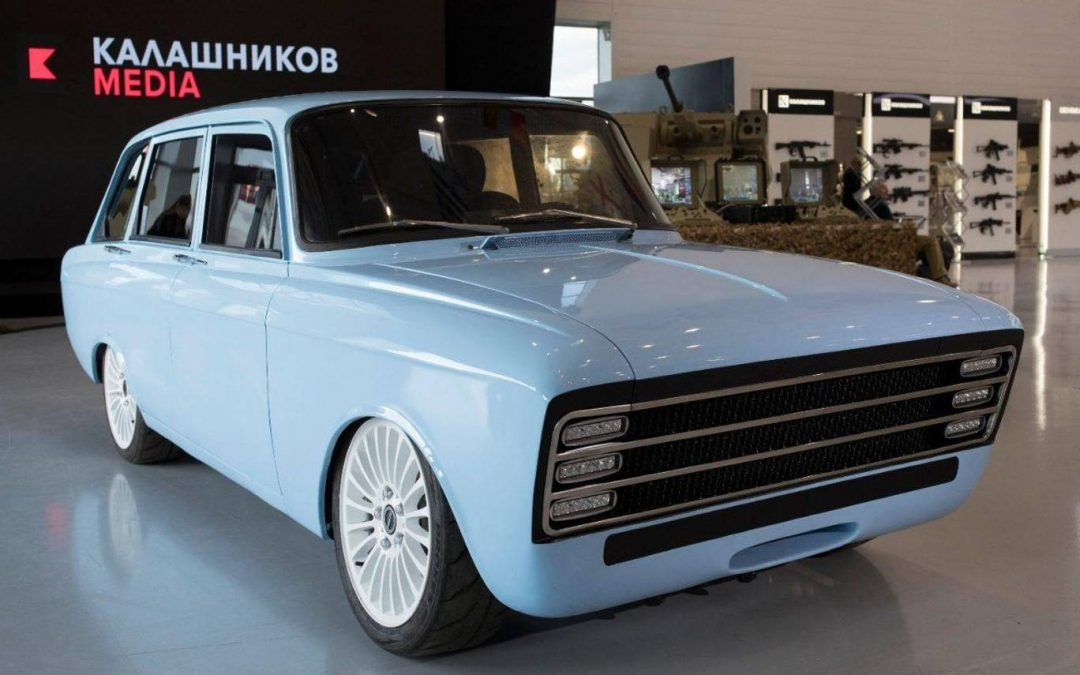 The Kalashnikov CV-1 electric car could be a Tesla competitor