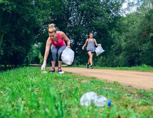 plogging combines jogging with picking up litter