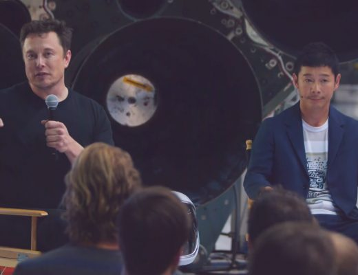 Elon Musk will send Yusaku Maezawa to the moon in a SpaceX Big Falcon Rocket