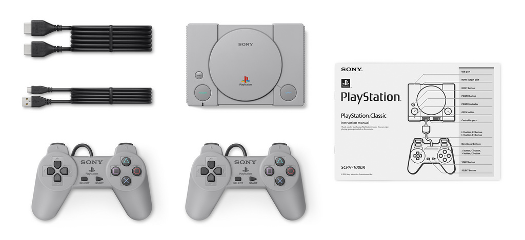 The PlayStation Classic set - Sony