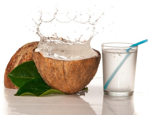 coconut water has less sugar and calories, and more potassium than sports drinks