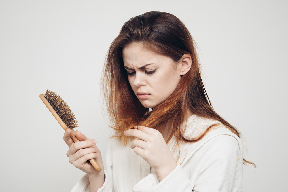 massage, protein and cold water are all good methods to fight hair loss