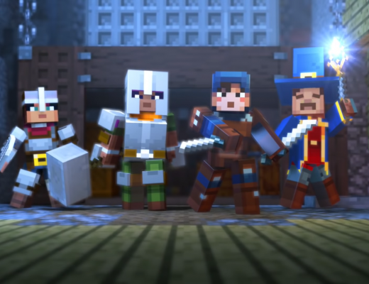 A new minecraft game has been announced, Minecraft Dongeons