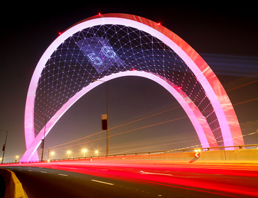 Lusail Expressway wins prestigious engineering award