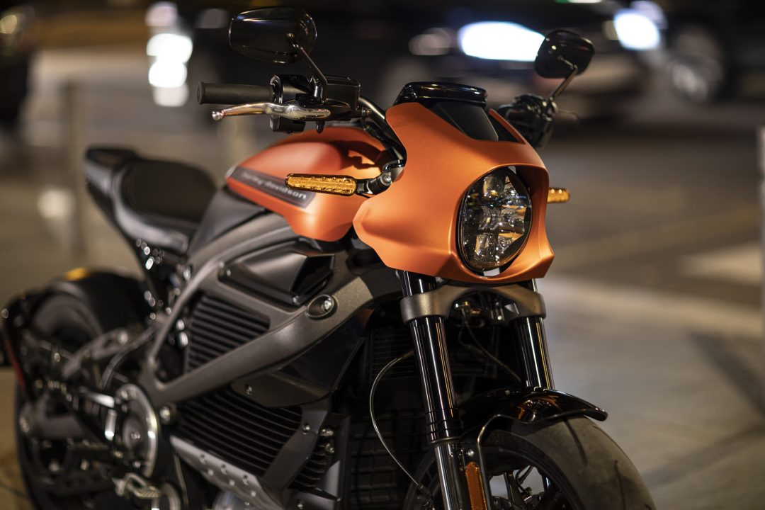 Harley-Davidson reveals LiveWire electric motorcycle