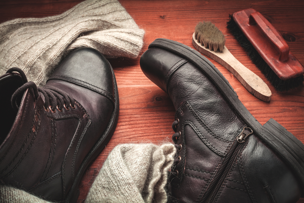 A guide to cleaning leather boots and making leather conditioner
