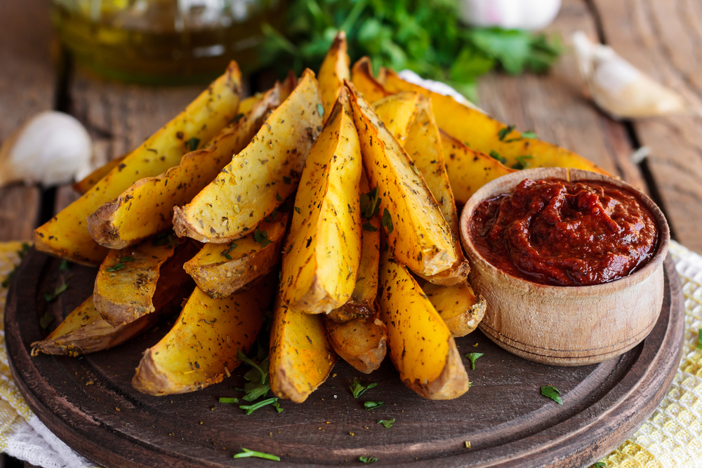 oven baked fries potato recipe