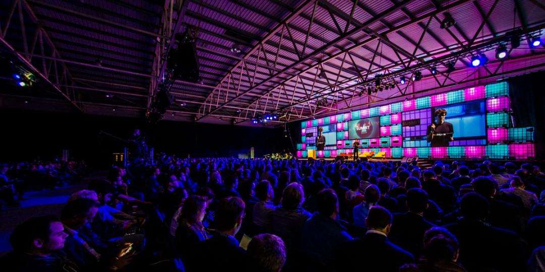 Web Summit in Dublin Irelands