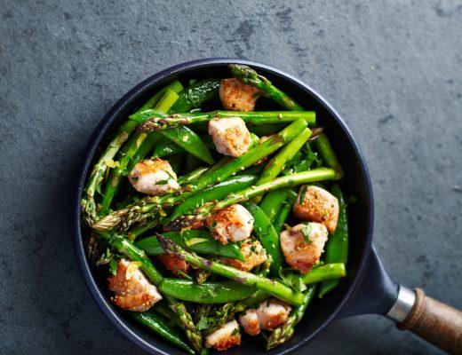 Chicken Asparagus Stir-Fry