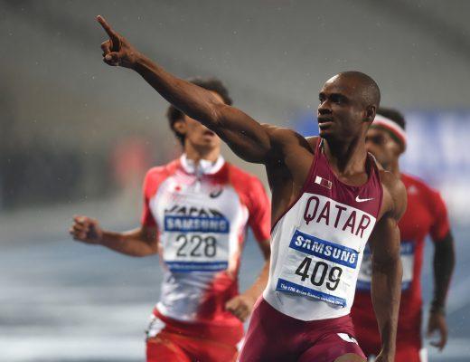 Femi Ogunode will represent Team Qatar at the 2016 Summer Olympics in Rio De Janeiro