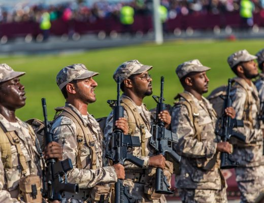 The military strength of Qatar