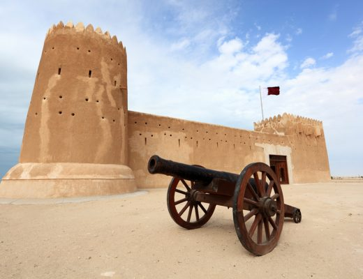 A group of UNESCO volunteers have set out to restore Qatar's Al Zubarah
