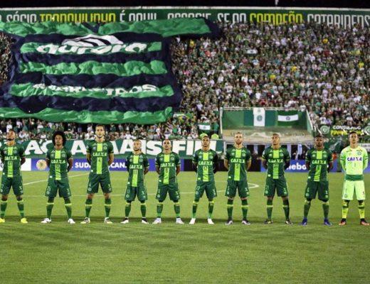 Brazil's Chapecoense football team