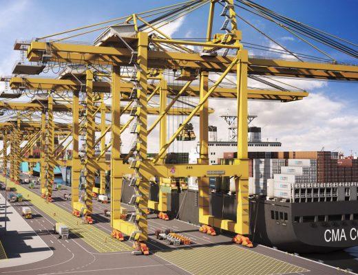 Qatar's Hamad Port render
