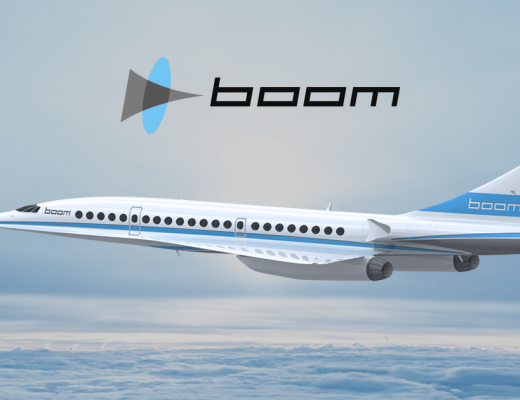 Sir Richard Branson Unveils New Supersonic Jet