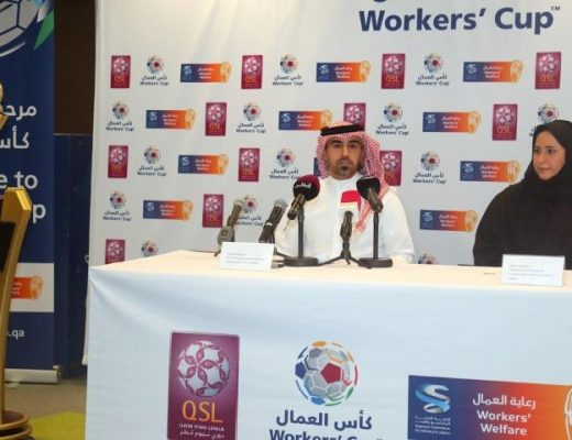 the Workers Cup press conference