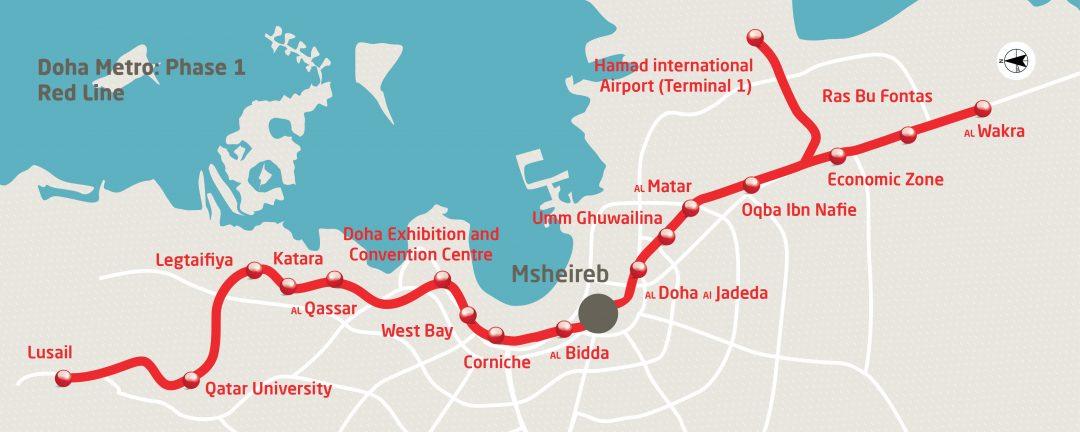 Doha Metro Red Line - Qatar Rail