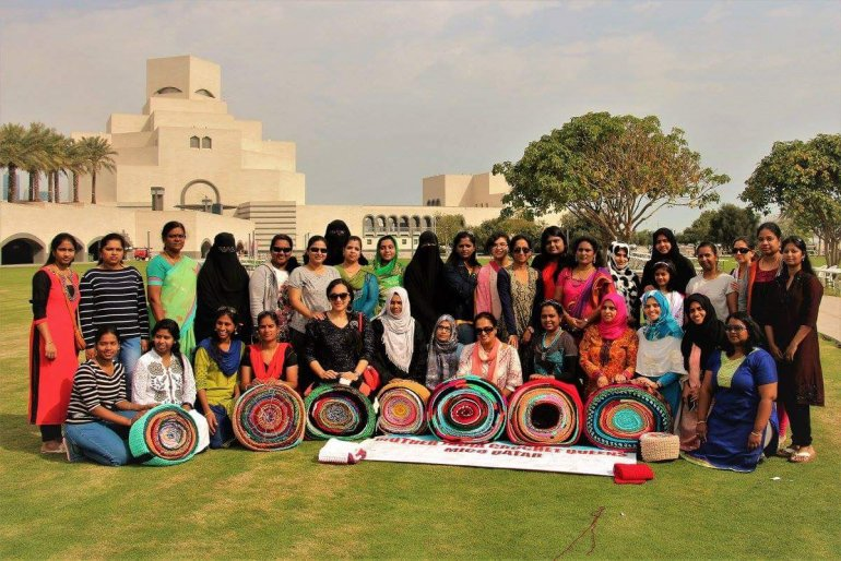 The Qatar chapter of Mother India's Crochet Queen are trying to set a new Guinness World Record - The Peninsula