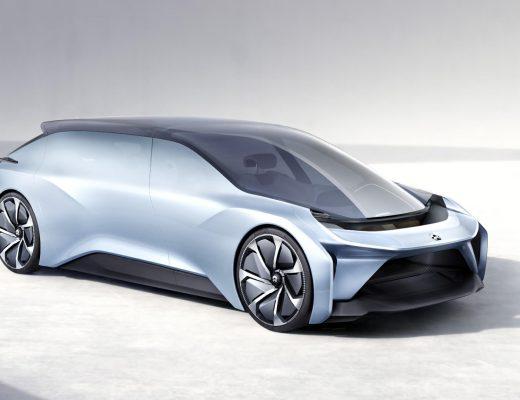 The exterior of the Nio Eve concept car - Nio