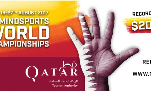 2017 Mindsports World Championship poster