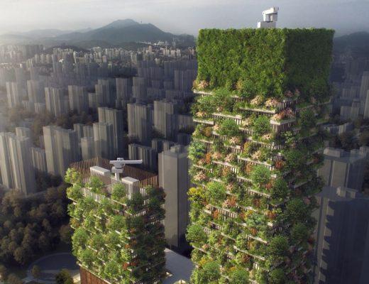 Nanjing Green Towers, Nanjing Vertical Forest Project - Stefano Boeri Architetti