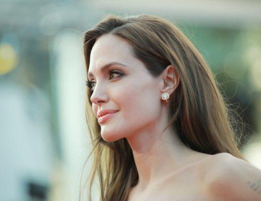 American actress Angelina Jolie