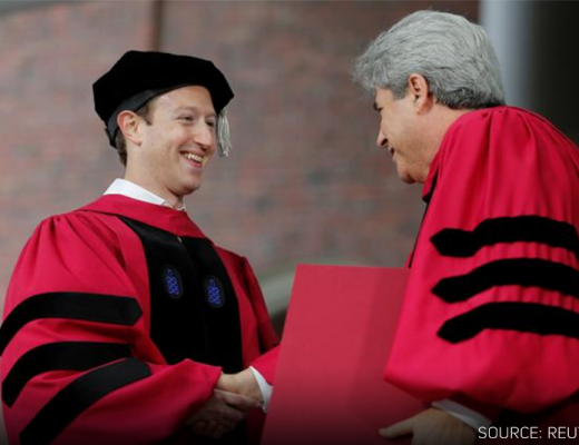Mark Zuckerberg receives honorary degree from Harvard - Reuters