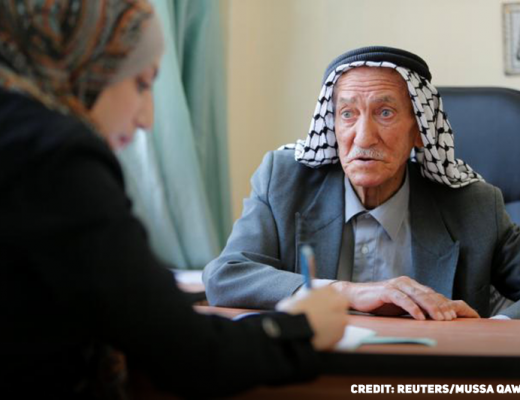 81-Year-Old Palestinian Man Goes Back To High School