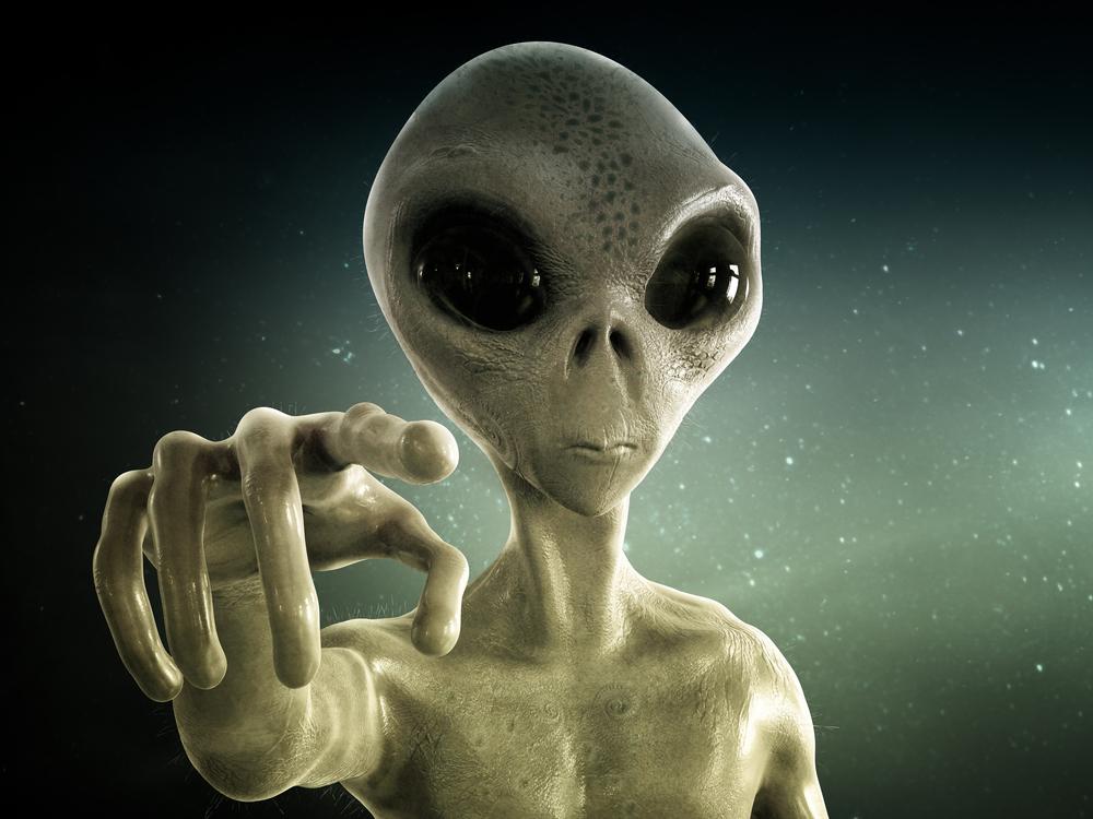 Alien life art