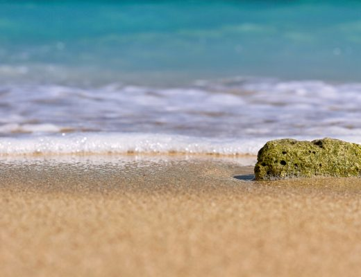 Fuwairit beach in northern Qatar