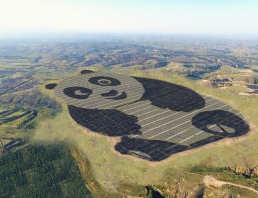 The Panda Green Energy power plant in Datong, China