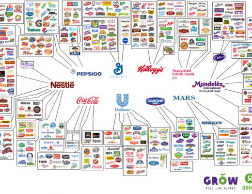 10 companies that make everything we eat
