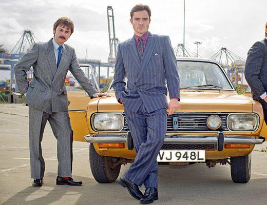 Ed Westwick (Chuck Bass, Gossip Girl) plays Vincent Swan in White Gold - Netflix