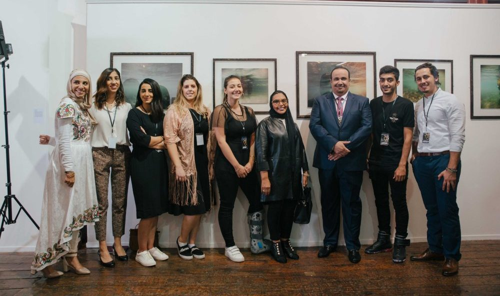 Middle Eastern and Qatari artists participating at the Transition exhibition in London