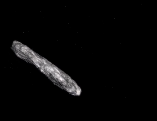 1I/2017 U1 ('Oumuamua) is the first interstellar object to visit our solar system