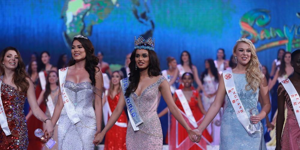 Miss India Manushi Chhillar was crowned Miss World 2017