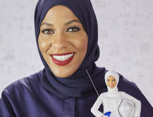 Newest Barbie doll by Mattel is sporting a hibaj, inspired by hijabi Olympic fencer Ibtihaj Muhammad