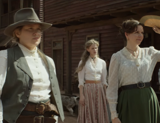 Godless - Frank Griffin (Jeff Daniels) is hunting Roy Goode, and he might be hiding in Le Belle, New Mexico