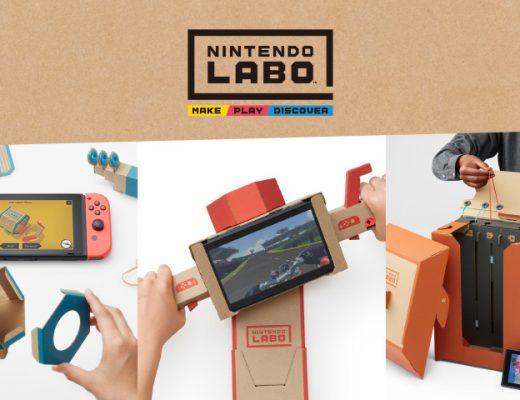 nintendo switch revolutionized video gaming experience with cardboard nintendo labo
