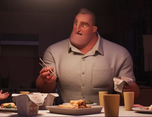 Elastigirl leads the Incredibles 2 movie by Disney Pixar