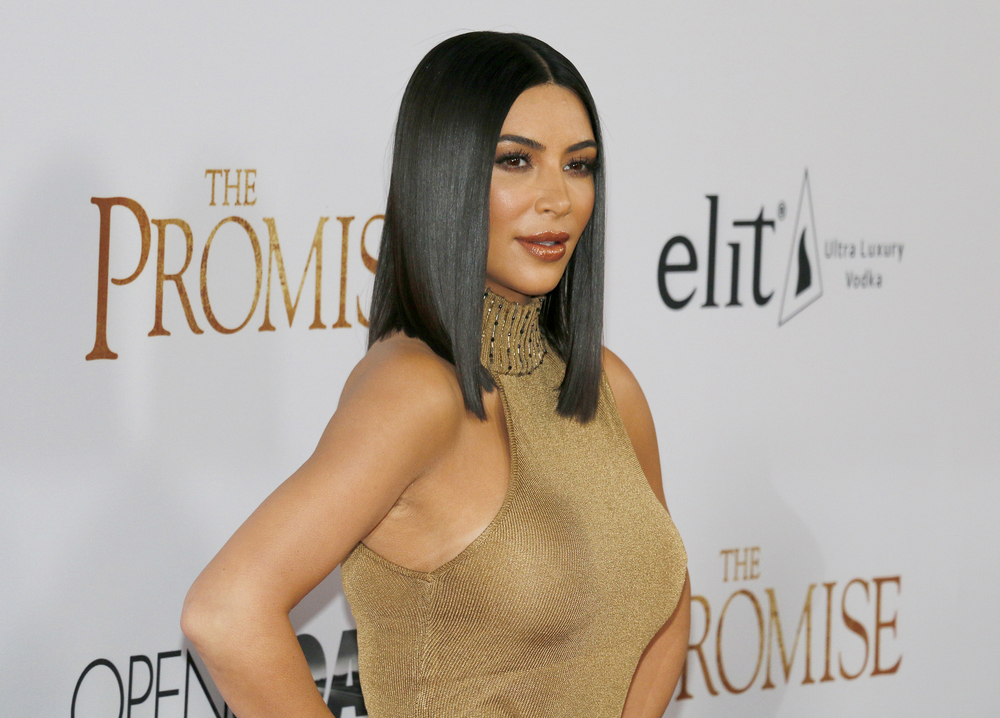Kim Kardashian West teamed up with Auction Cause to sell her clothes for charity