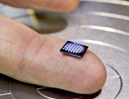 Crypto-anchor by IBM is the world's smallest computer