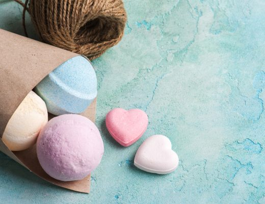 make your own bath bombs for colorful and bubbly baths