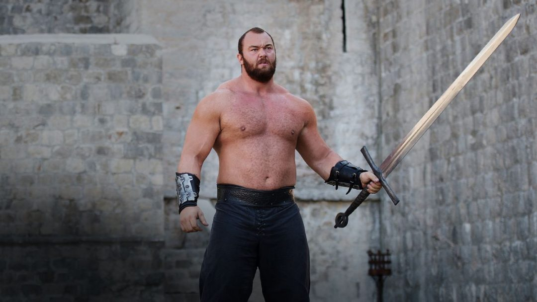 Hafþór Júlíus Thor Bjornsson, known to Game of Thrones fans as Gregor Clegane, or The Mountain, won first place at the World's Strongest Man competition