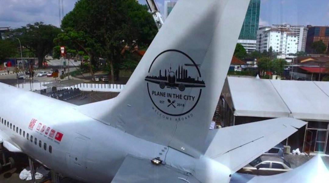 Plane in the city boeing 737 restaurant in Malasiya - The Independent
