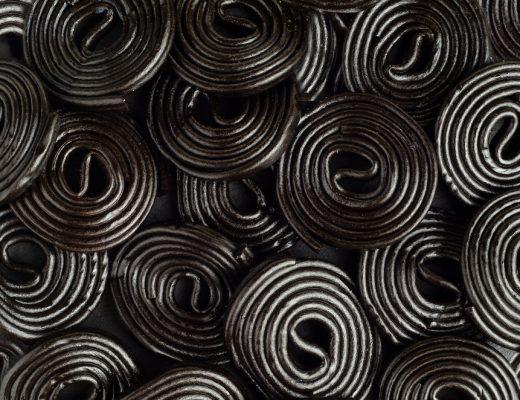 glycyrrhizin, found in black licorice, can cause potassium levels to drop drastically