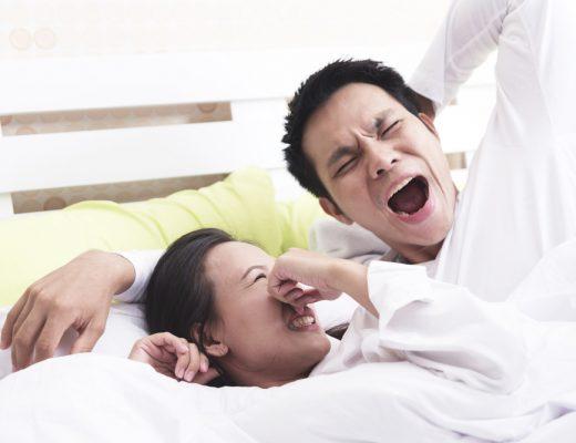 morning breath is bad breath odor