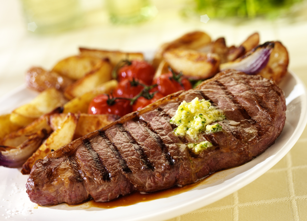 steak dinner, tasty and quick steak recipe